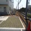 工場内駐車場緑化工事 八潮市