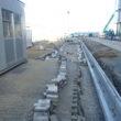 新庁舎建設工事:雨水排水工事を行っています。