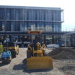 新庁舎建設工事:外構工事進捗情報